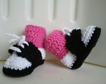 Saddle Shoes, Pink Black and White, Saddle Booties