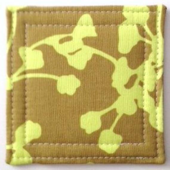 Coasters made w/Olive  Coriander