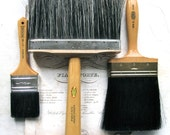 Instant Collection of 3 Vintage Brushes