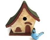 vintage bird house birdhouse