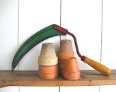 vintage garden tool, gardening, garden collections, tool, green, harvesting,