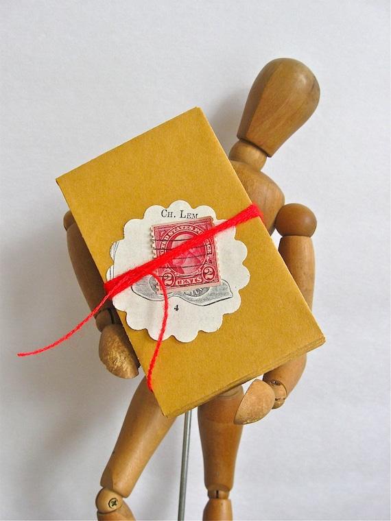 50 vintage kraft envelopes 2 1/4 by 3 1/2 inches, button envelopes