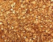 Copper Metallic Coarse Sand Glitter Decoration