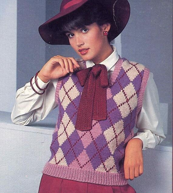 Classic Mens Sweater Vest Crochet 85