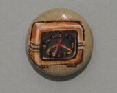 Retro Clock magnet