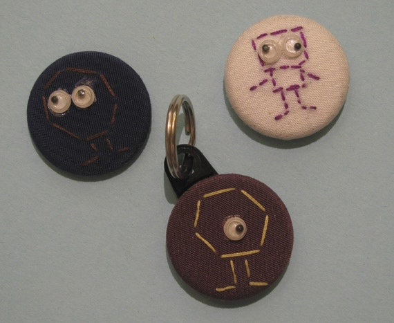 Three piece silly creatures set