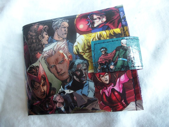 Comic Wallet - The Magnus Family CUSTOM FOR FRANCES