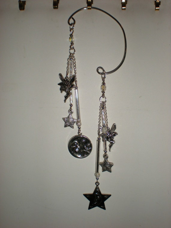Renaissance/ fairy/ elven/ cosplay/gypsy/ bridal EAR WRAP