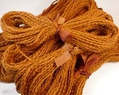 Rust Cotton Yarn Copper Teddy Colored Fiber Perfect for Doll Hair 20 Yards