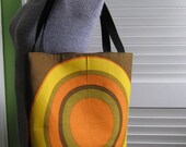 Upcycled Tote Bag made from a Pair of Vintage Fallani and Cohn Napkins
