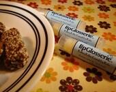 Vegan Lip Balm - Buttery Toffee Crunch - Handmade - Free Shipping