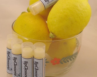 Free Shipping - Lemonade Vegan Lip Balm - Handmade - Vegan