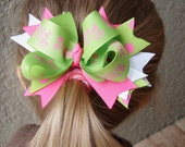 Big Sister Bow with Spikes