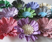Handmade Paper Sunflowers Wedding 50-2 1/2 inch In Colors of your choice