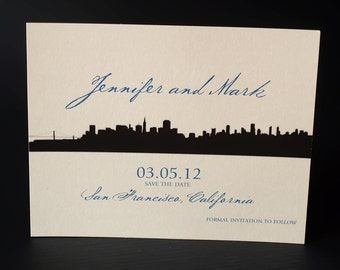 San Francisco Skyline - Save the Date