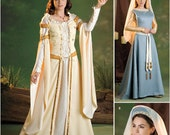 Simplicity 2573 Historical Medieval Costumes for Women in Sizes 16-24