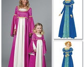 McCall's 6141 Two Renaissance Dresses for Girls in Sizes 3-8