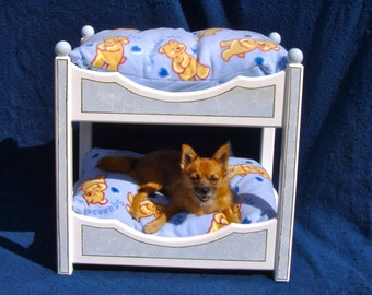 Wooden Dog Bed Etsy