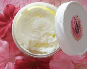 SPA DAY - Soft Blend of Green Tea, Aloe and Lemon - Whipped Soap Parfait - 4oz.
