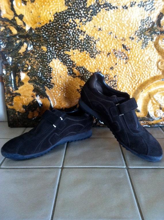 SALE 50 PERCENT OFF Vintage Ferragamo Brown Suede Walking Shoes