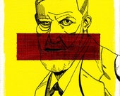 Art Print Portrait Sigmund Freud