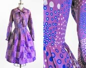 Vintage 1960s THAT GIRL Dress