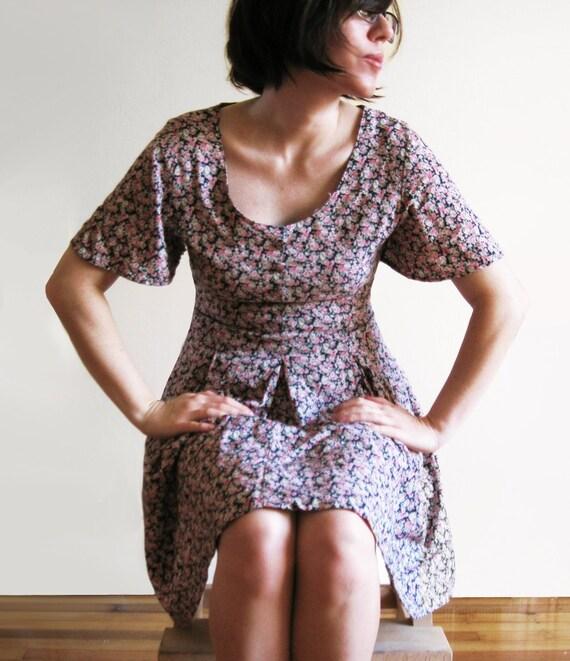Babydoll Grunge Mini Dress