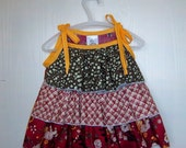Tiered topper for size 5 girl