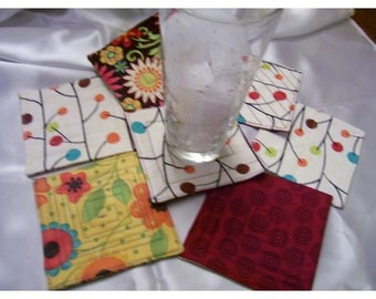 Coasters set of 7 A New Summer