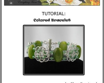 TUTORIAL Colored Bracelet