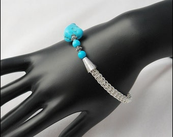 Full Persian Turquoise Bracelet