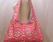 SALE Pink and Red Market Bag