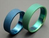 wedding rings, titanium rings, wood rings, mens rings, Titanium Wedding Bands, Eco-Friendly Wedding Rings, Wedding Rings - EARTH AND SKY