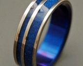 wedding rings, titanium rings, wood rings, mens rings, womens ring, Titanium Wedding Bands, Eco-Friendly Rings - ALL IS WELL