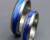 Titanium rings, wedding rings, titanium wedding rings, eco-friendly rings, mens ring, women's ring - SECOND STAR