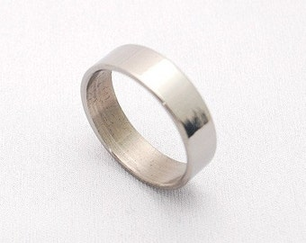 wedding rings, titanium rings, wood rings, mens rings, Titanium Wedding Bands, Eco-Friendly Rings, Wedding Rings - SIMPLE MIRROR