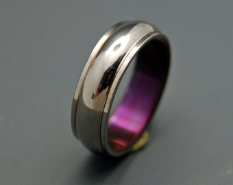 wedding rings, titanium rings, wood rings, mens rings, Titanium Wedding Bands, Eco-Friendly Wedding Rings, Wedding Rings - LOVES GIFT