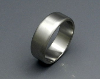 Titanium wedding ring, wedding ring, titaniun rings, mens ring, womens rings, eco-friendly - TRUE