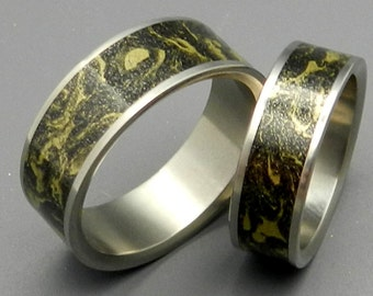 wedding rings, titanium rings, M3 rings, mens rings, Titanium Wedding Bands, Eco-Friendly Rings, Wedding Rings - SATORI