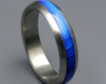 wedding rings, titanium rings, wood rings, mens rings, Titanium Wedding Bands, Eco-Friendly Wedding Rings, Wedding Rings - SECOND STAR