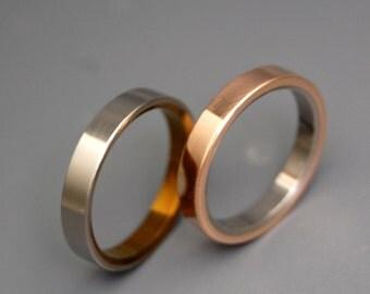 wedding rings, titanium rings, wood rings, mens rings, Titanium Wedding Bands, Eco-Friendly Wedding Rings, Wedding Rings - ALLEMANDE