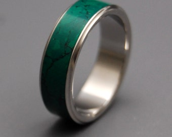 wedding rings engagement rings titanium rings jade rings mens ring womens - Jade Wedding Ring