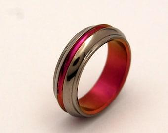 wedding rings, titanium rings, wood rings, mens rings, Titanium Wedding Bands, Eco-Friendly Rings, Wedding Rings - COQUETTE