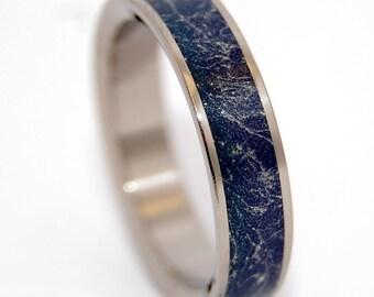 wedding rings, titanium rings, wood rings, men's ring, women's ring, unique wedding ring, engagement rings, commitment ring - IN ME