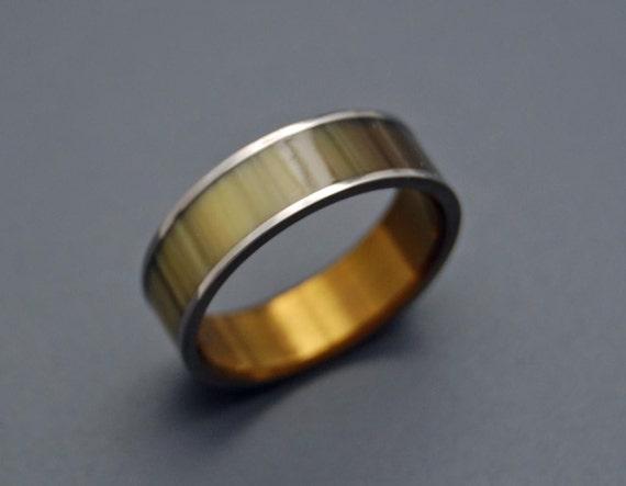 wedding rings, titanium rings, wood rings, mens rings, Titanium Wedding Bands, Eco-Friendly Rings, Wedding Rings - LOVE CORRAL