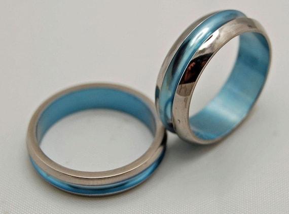 wedding rings, titanium rings, wood rings, mens rings, Titanium Wedding Bands, Eco-Friendly Rings, Wedding Rings - STARBOARD