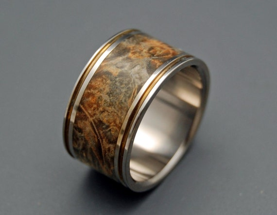 wedding rings, titanium rings, wood rings, men's ring, women's ring, unique ring, engagement, commitment - how MUCH a HEART can HOLD
