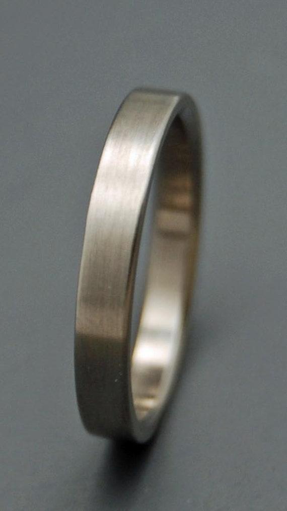 Titanium wedding ring, titanium ring, unique ring, wedding ring, engagement ring, wedding band, men's ring, woman's ring - SLEEK AND SIMPLE