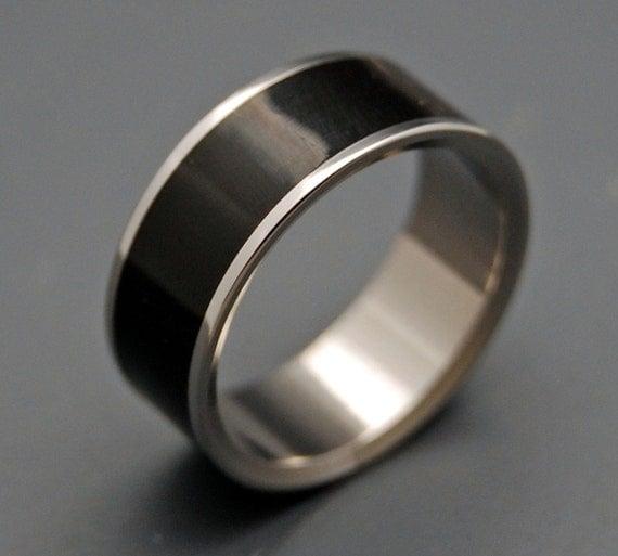 wooden wedding ring titanium wedding band wedding rings