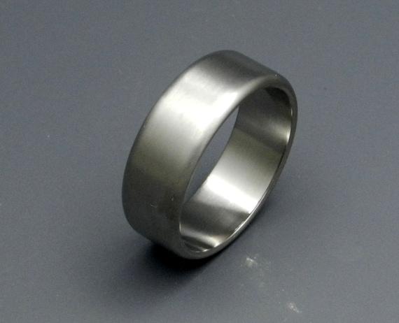 Titanium wedding ring, wedding ring, titaniun rings, mens ring, womens rings, eco-friendly - TRUE